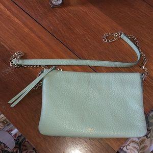 Fossil Light Green Crossbody Bag
